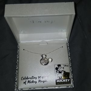 Mickey mouse 90 years ann. 18 in necklace